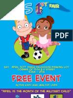 Kids First Fair Poster 30 APR