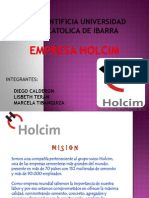 Planificacion Estrategica de Holcim