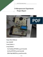 ELEC254 Project Report
