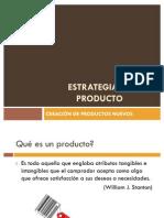 Creacion de Nuevos Productos