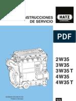 Motor Dieasel BA W35 Spanisch 00