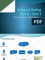 Software Testing VIII Sem Unit 3