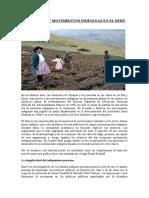Movimiento Indigena Peru