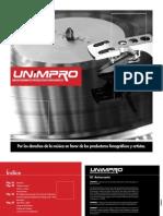 Brochure Unimpro 2011
