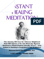 Instant Healing Meditation (Basic)_David Alan Ramsdale
