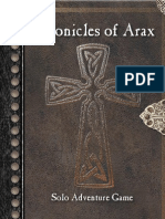 Chronicles of Arax - Core Rules1.2