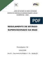Regulamento de Estagios ESAG Julho -2008