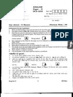 Slet Question Paper