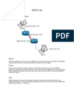 DHCP Example Lab