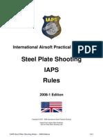IAPS Steel Plate Shooting 2008 Rules En