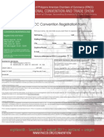 2011 FPACC Bi-National Annual Convention Registration Form
