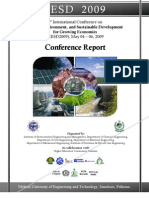 Report Eesd 2009