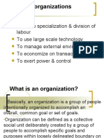 1st Sesion-What is an Organization