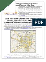 Indianapolis Solar Tour
