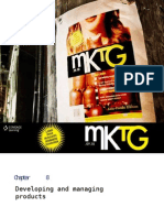MKTG PP Ch08-Developing Managing Products