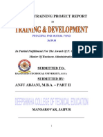 Summer Training Project Report in Pnb Mutual Fund
