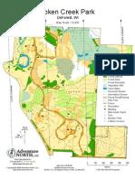Token Creek Park O-Map