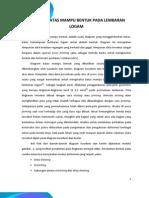 Diagram Batas Mampu Bentuk Pada Lembaran Logam (AA)