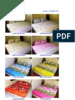 Katalog Sprei Anak 2011