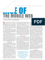 Rise of the Mobile Web - The India Perspective 2011