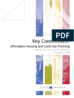 Key Connections Affordable Housing and Land Use Planning COE