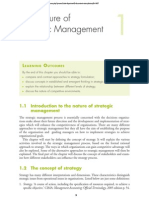 Nature and Scope Strategic Management