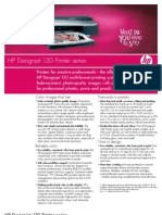 HP Designjet 130 Printer Series