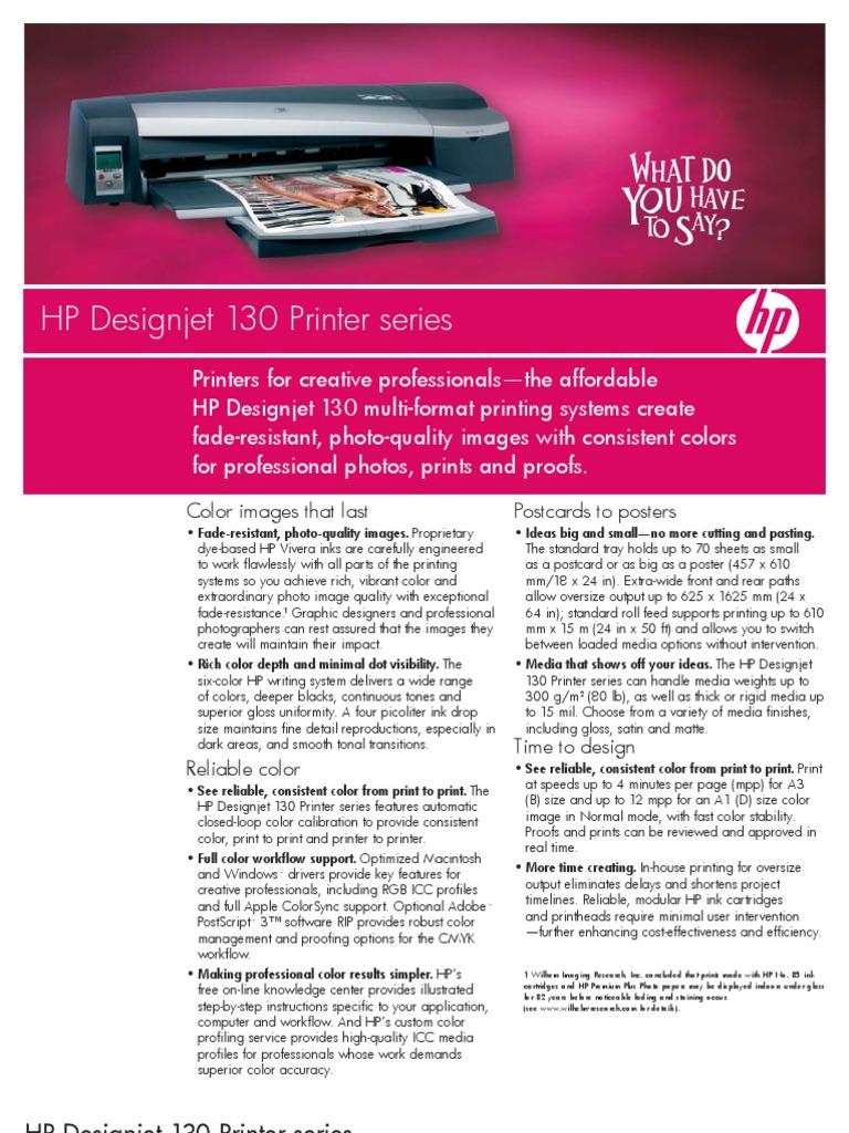HP Designjet 130 Printer Series   Printer (Computing)   Art