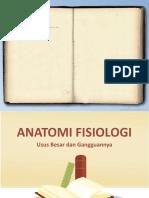 Anatomi fisiologi - Usus besar dan gangguannya ppt