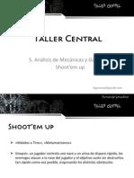 5. Análisis de mecánicas y gameplay - Shoot'em up