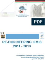 Re- Engineering of IFMIS to Connected Goverment