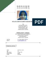Resume 20122010 Kak Su