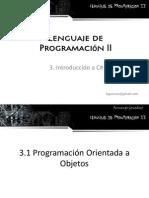 3. Introduccón a C#