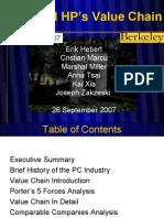 DellHP Value Chain Presentation