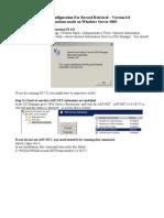 IIS Server Instructions