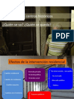 #usde #regurbana 6/8 | Vivir en los centros históricos