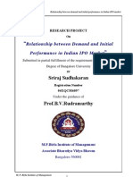 Relationship Between Demand and Initial Performance in Indian IPO Market-SrirajSudhakaran-0449