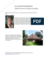 Theology of the Body Weekend Retreat