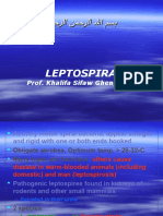 Lecture 28 Leptospira