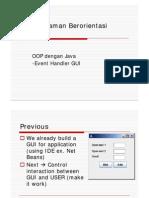 Event Handler GUI
