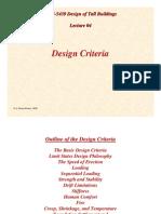 TB Lecture04 Design Criteria