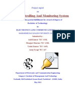 Advance Controlling and Monitoring System