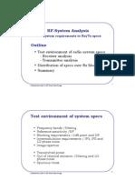 RF System Analysis