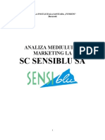 Analiza Mediului de Marketing La SC Sens