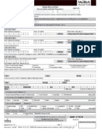 Taurus Mutual Fund Common Application Form