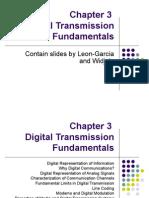 3. Digital Transmission Fundamentals