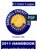 Sandwell Cricket Rule Book 2011