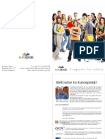 Eurospeak brochure