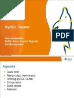 Geert Vanderkelen MySQL Cluster