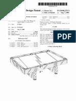 Patent in Suit D446275